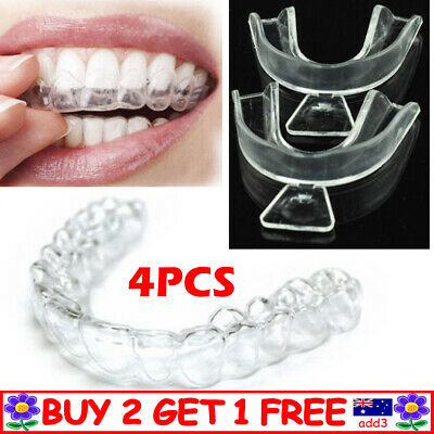 AU9.59 • Buy 4 X Teeth Whitening Thermo Mould Mouth Trays (4 TRAYS) High Quality Guards TT AU