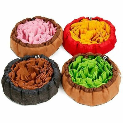 AU22.88 • Buy Pet Dog Puppy Toys Snuffle Mat Puzzle Smell Sniffing Nose Training Bowl Washable
