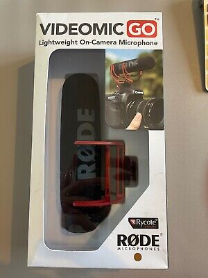 Rode VideoMic Go - Lightweight On-Camera Microphone - New • 54.99£