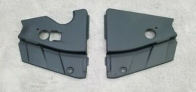 $29.90 • Buy Ford Mustang 05-09 Radiator Extensions Matte Black Made In The USA