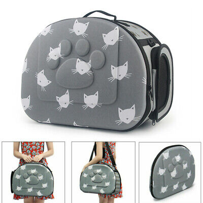 £15.29 • Buy Portable Pet Dog Cat Travel Carrier Tote Rabbit Cage Bag Crate Kennel Box Holder