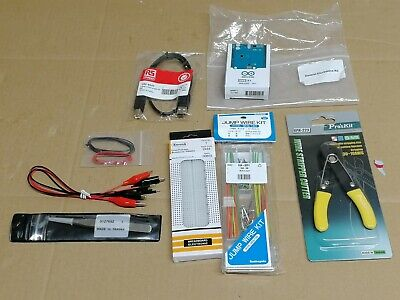 Uno R3 Board & General Electronics Kit - Jump Wire Kit Etc • 20£