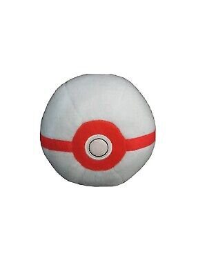 Pokemon 5  Premier Ball Pokeball Plush Soft Toy  • 6£