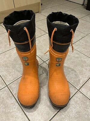 Husqvarna Chainsaw Boots UK Size 9 • 39£