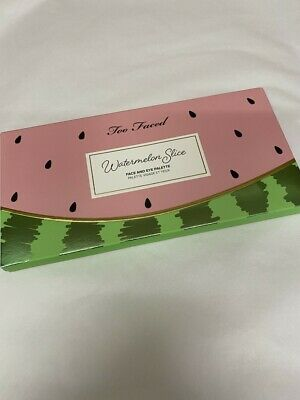 £12.75 • Buy Too Faced Tutti Frutti Watermelon Slice Eye And Face Palette ** SALE**
