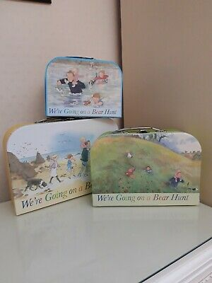 £8.99 • Buy New Sealed We're Going On A Bear Hunt Storage Carry Cases - Set Of Three