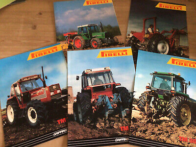 AU8.88 • Buy Tractor Brochure Leaflet Pirelli Tyres From The 1990 S
