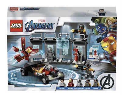 New Lego 76167 Marvel Avengers Iron Man Armory Set Unopened Immaculate Condit • 27.99£