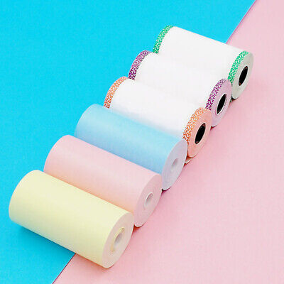 AU18.89 • Buy 6/12/18 Roll Thermal Printer Paper 57x30mm For PeriPage A6 Printer Thermal Paper