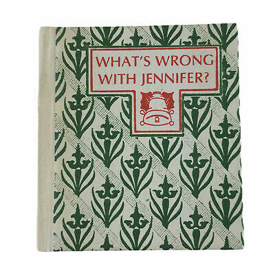 £27.05 • Buy What's Wrong With Jennifer? By Marie Walz 1983 Hardcover Miniature Book