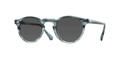 $230.99 • Buy Authentic Oliver Peoples 0OV 5217S GREGORYPECKSUN 1704R5 Washed Lapis Sunglasses