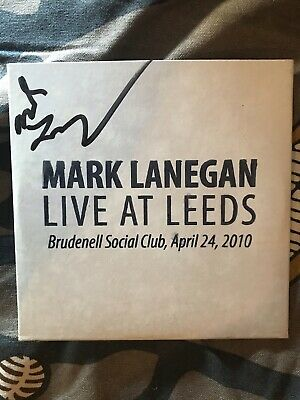 AU24 • Buy Mark Lanegan - Live At Leeds (personally Signed) LTD TOUR ONLY CD
