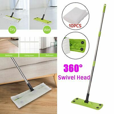 Static Cleaning Mop Sweeper Wet Or Dry Wipes Laminate Wood Tile Floor Cleaner V7 • 8.69£