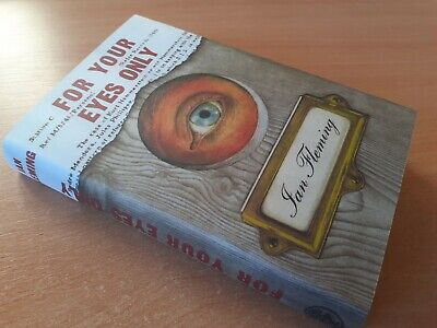 For Your Eyes Only Ian Fleming Hb 1st 1960 Uk James Bond 007  • 9.50£