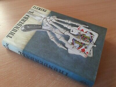 Thunderball Ian Fleming Hb 1st 1961 Uk James Bond 007  • 50£