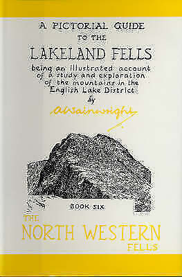 North Western Fells A Pictorial Guide To The Lakeland Fells Wainwright Book Six • 5£