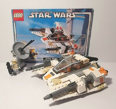 Lego Star Wars Rebel Snowspeeder Set 4500 Complete/Instructions/MiniFigures.  • 33£