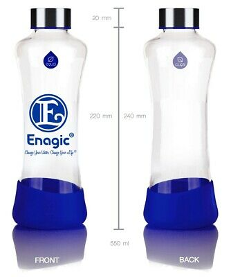 Authentic Glass Bottle 550ml For Alkaline Kangen Water - Made By Enagic Japan • 35£