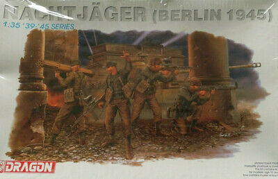 Dragon 1/35  6089 '39-45 Series (Berlin 1945) 4 Figures  (No Box) • 16.99£