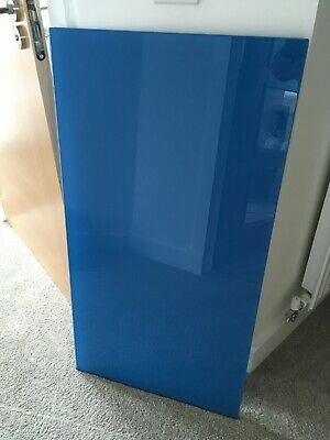 Ikea Vika Glasholm 402 214 72 Blue Glass Top Only Still Boxed Gaming Desk  • 8£