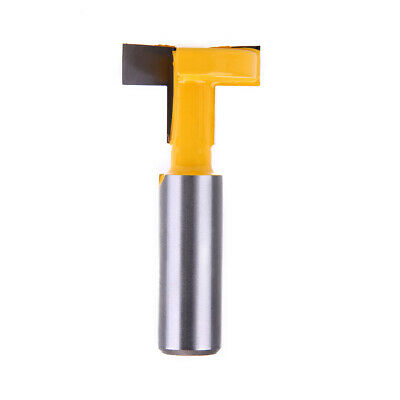 £6.84 • Buy 1/2*5/16 Shank Straight T-track T-Slot Router Bit Woodworking Chisel Cutter