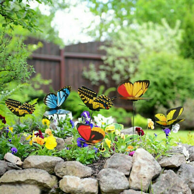 50pcs Garden Butterfly Ornaments Butterfly Decorations For Indoor/Outdoor • 6.99£