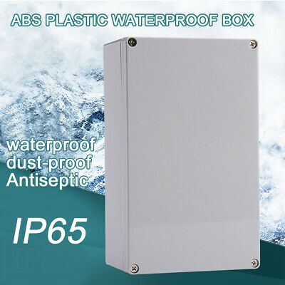 £6.79 • Buy Waterproof Electronic Junction Project Box Enclosure Case 200x120x75mm Outdoor