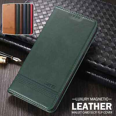 AU13.99 • Buy For OPPO A5/A9 2020 A92/A52 A53 Case Magnetic Leather Stand Wallet Flip Cover
