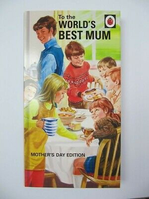 Ladybird Books For Grown Ups Funny Wprlds Best Mum Mothers Day Greeting Card  • 2.95£