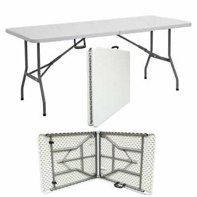 6ft Heavy Duty Folding Catering Trestle Camping BBQ Party Garden Portable Table • 39.99£
