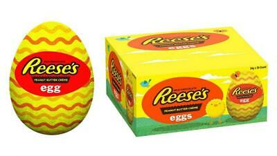 £42.99 • Buy Reeses Peanut Butter Creme Eggs 34g Full Case Of 48 Eggs Parties Favours Lunch