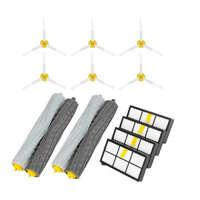 Side Brush&Hepa Filters&Bristle Brush Replacement For I-Robot Roomba 900 960 980 • 17.99£