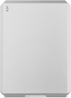 Mobile Drive, 2 TB , External Hard Drive HDD – Moon Silver, USB-C USB 3.0, With • 10.61£