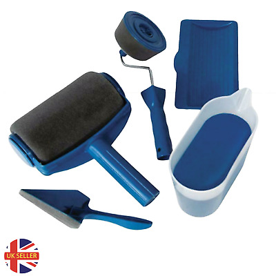£12.99 • Buy Paint Roller Kit 5 Pcs Multifunctional Household Use Wall Decorative