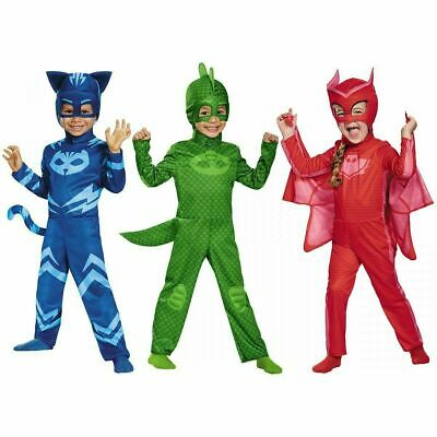 Disguise PJ Masks Catboy Gekko Owlette Classic Kids Toddler Halloween Costume • 13.05£