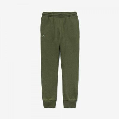 Lacoste MENS Jogging Bottoms Cuffed Khaki Green Tracksuit Sports Gym Pant Size S • 44.99£
