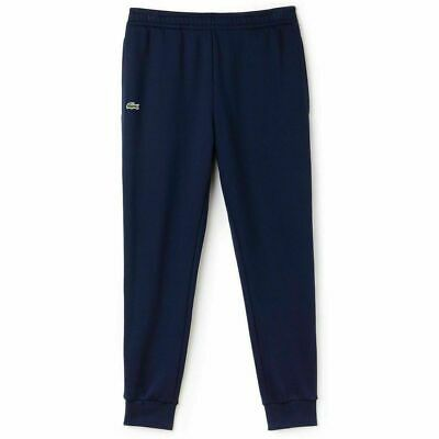 Lacoste MENS Jogging Bottoms Cuffed Navy Tracksuit Sports Gym Pant Size XXL • 49.99£