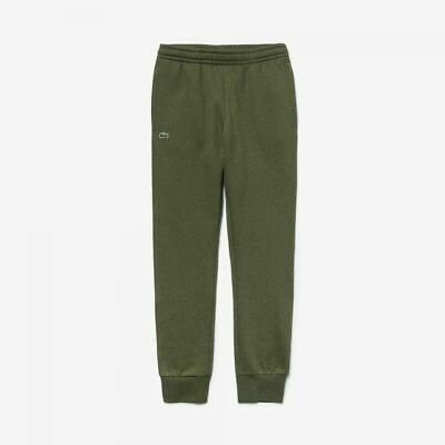 Lacoste MENS Jogging Bottoms Cuffed Khaki Green Tracksuit Sports Gym Pant Size M • 44.99£