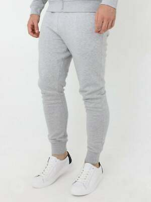 New Lacoste MENS Jogging Bottoms Grey Tracksuit Sports Gym Pant Size S • 44.99£