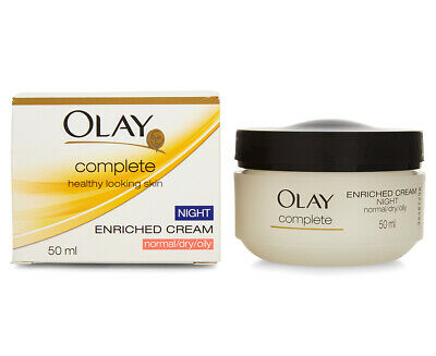 AU12.59 • Buy Olay Complete Enriched Night Cream 50mL