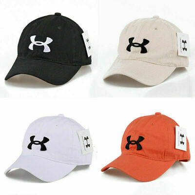Under Armour Baseball Cap Sport Adjustable Mens Womens Golf Summer Visor Hat UK • 7.96£