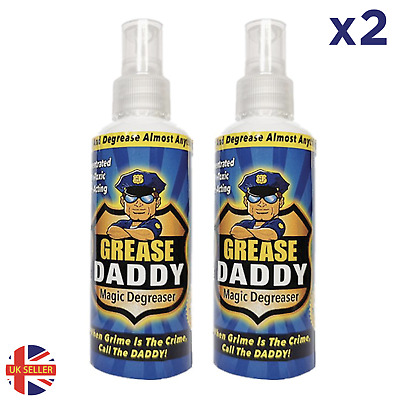 £6.99 • Buy Degreaser 2 X Grease Police Magic Cleaner Spray Kitchen Home Degreaser Dirt