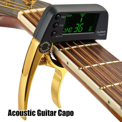 $ CDN28.98 • Buy Acoustic Guitar Capo Quick Change Key Tuner For Electric Parts Bass Ukulele Kit