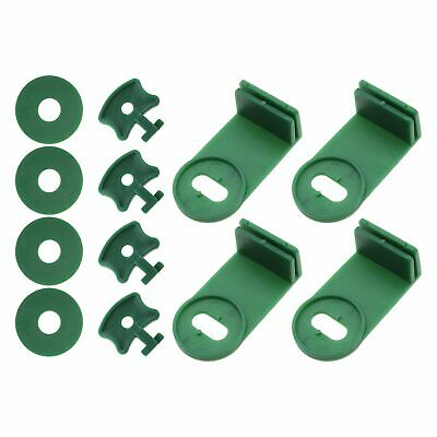 50 Kits Greenhouse Corner Clips For Bubble Wrap Shading Insulation Fixation • 13.17£