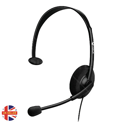 £9.99 • Buy Xbox One Headset Chat Official Genuine With Mic Microsoft One S X 3.5mm