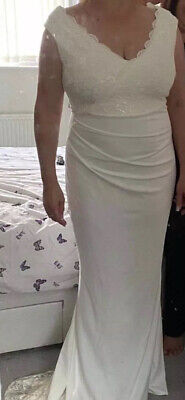 AU216.70 • Buy Stunning Wedding Dress Size 14/16