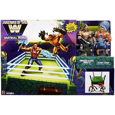$34.99 • Buy CENA & TRIPLE H INCLUDED SEALED GRAYSKULL MANIA Ring WWE Masters Of The Universe