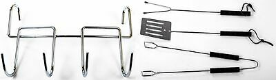 Grill-Komplettset Grilling Utensils Grill Accessories Tongs Barbecue Fork Turner • 12.04£