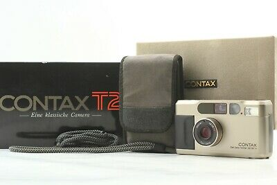$ CDN1140.55 • Buy 【NEAR MINT- In BOXED】 Contax T2D T2 D Point & Shoot 35mm Film Camera From JAPAN