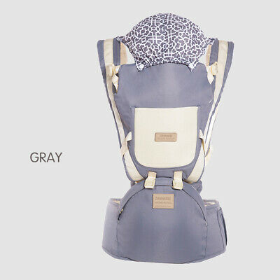 9 In 1 Ergonomic Baby Carrier With Hip Seat Stool Backpack For All Seasons BB260 • 20.95£